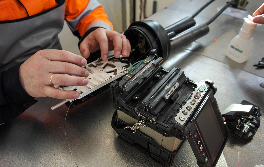Сварка оптоволоконных кабелей