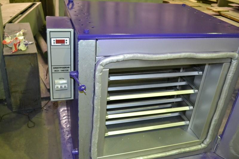 печь для прокалки электродов
