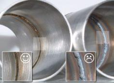 сварочные швы на трубах