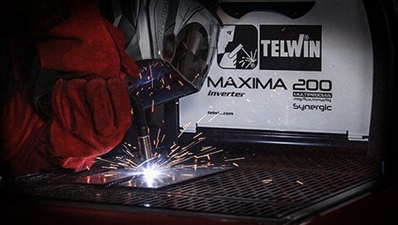 многофункциональный TELWIN MAXIMA 200 SYNERGIC