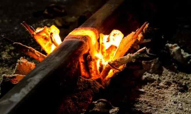 термитное сваривание