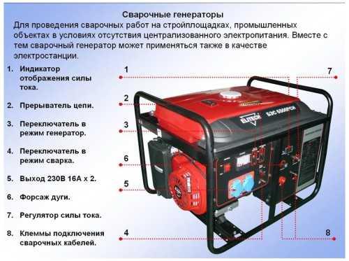 схема сварочного генератора