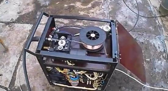 самодельный сварочный полуавтомат