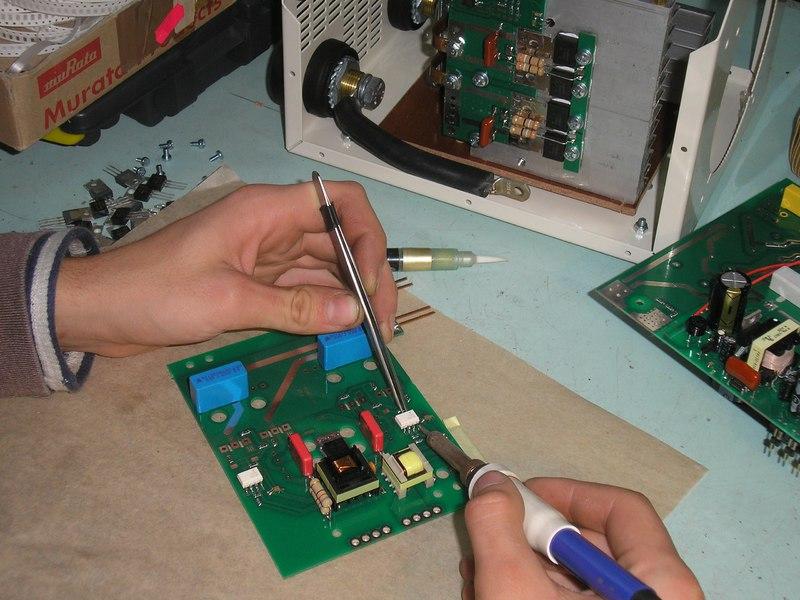 ремонт микросхемы