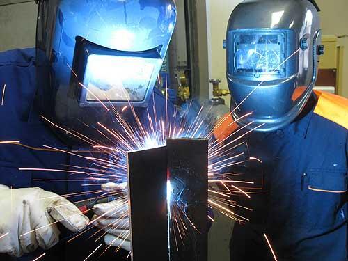Сварка стали