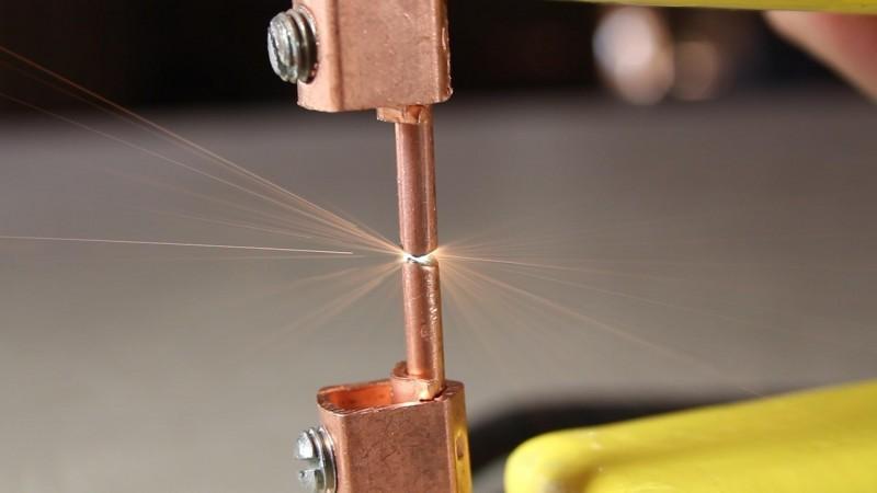 аппарат для точечной сварки медных скруток