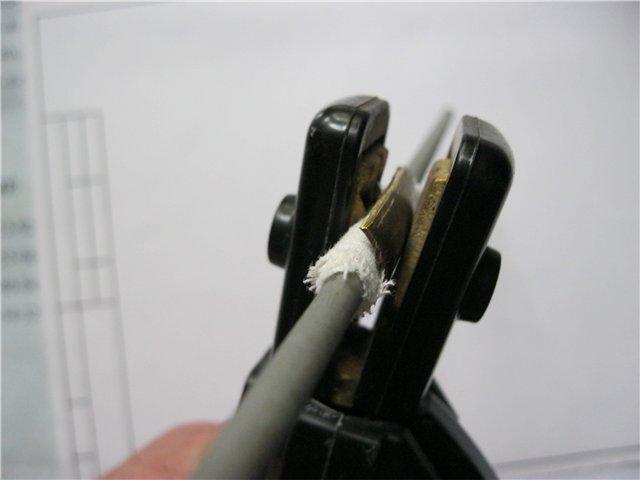 электрод в зажиме