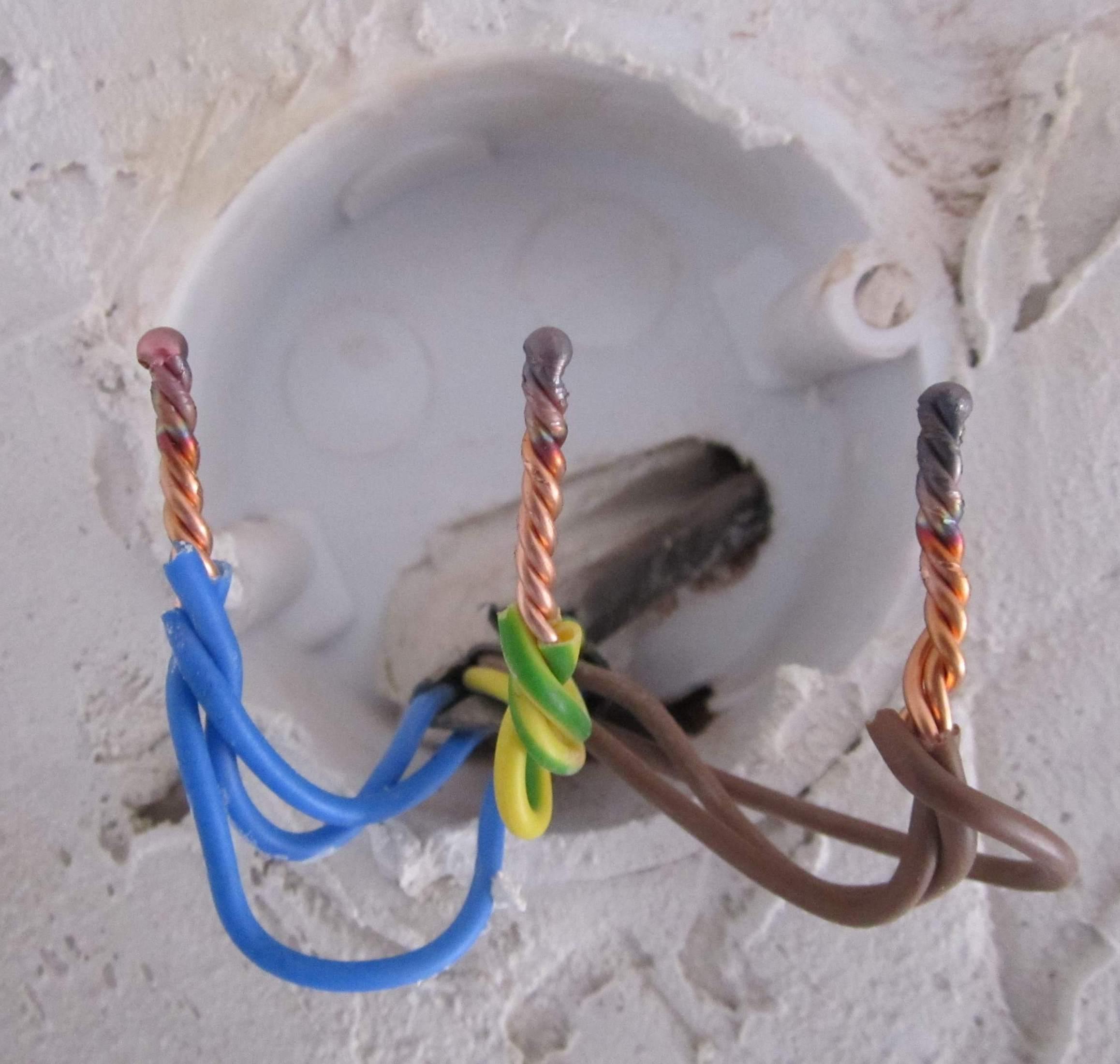 сваренные провода