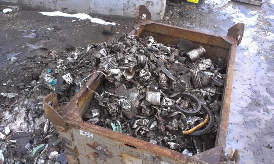 металлический мусор