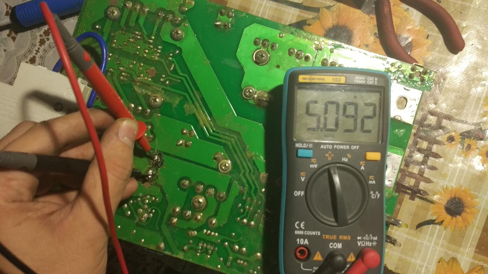 измерение параметров тока