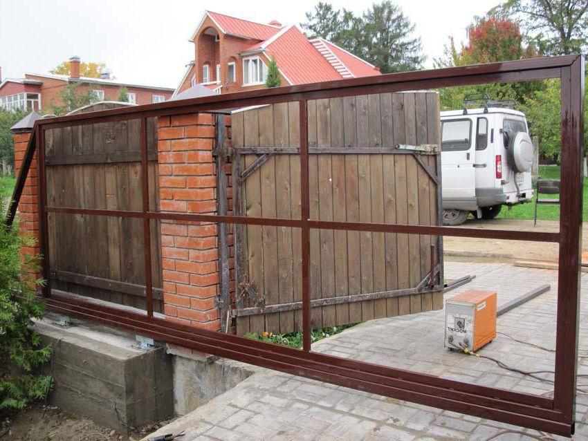 Как хорошо сварить ворота в частном доме самому